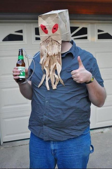 costume beer cthulhu funny g rated - 7870209536