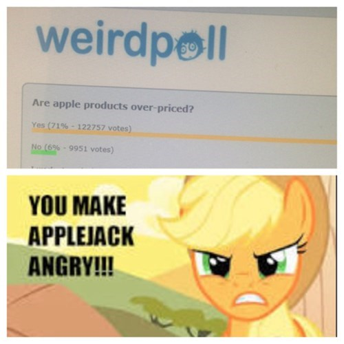 poll applejack apple - 7870237952