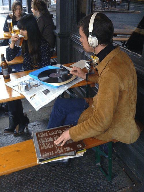 vinyl Music hipster - 7870261504