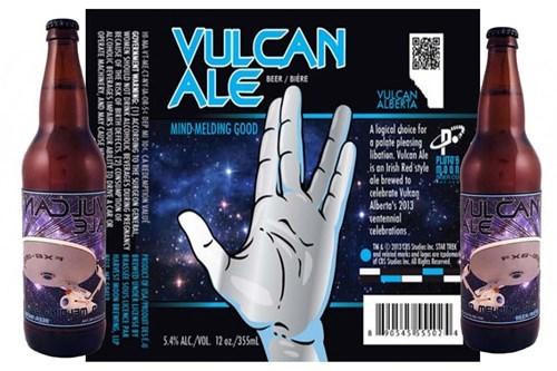 beer Vulcan Star Trek funny ale - 7870272256
