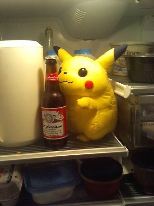 beer Pokémon wtf pikachu funny - 7870277376