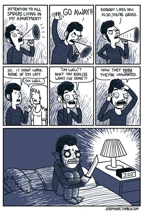 spiders funny web comics - 7870288640