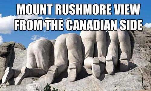 Canada america Mount Rushmore - 7870310144