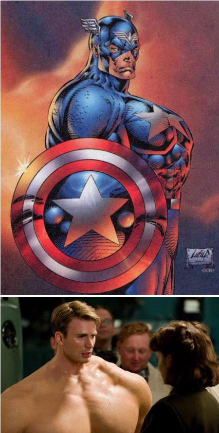 off the page body image steve rogers captain america - 7870328064