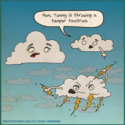 weather lightning funny web comics - 7870398208
