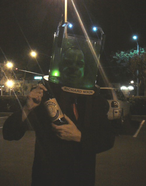 Richard Nixon halloween futurama funny - 7870637568