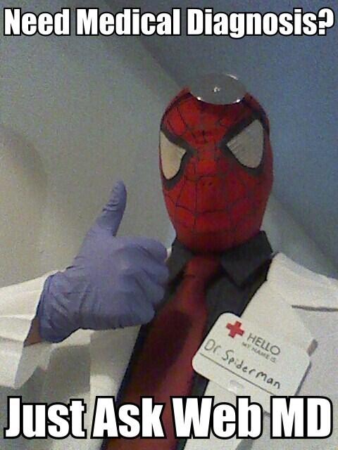 webmd puns Spider-Man - 7871235840