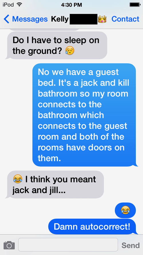autocorrect text Jack And Jill g rated AutocoWrecks
