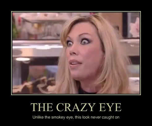 THE CRAZY EYE