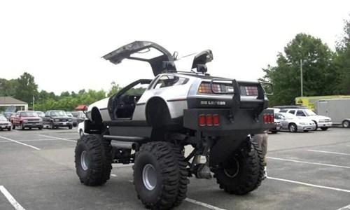 DeLorean back to the future off road - 7872328960
