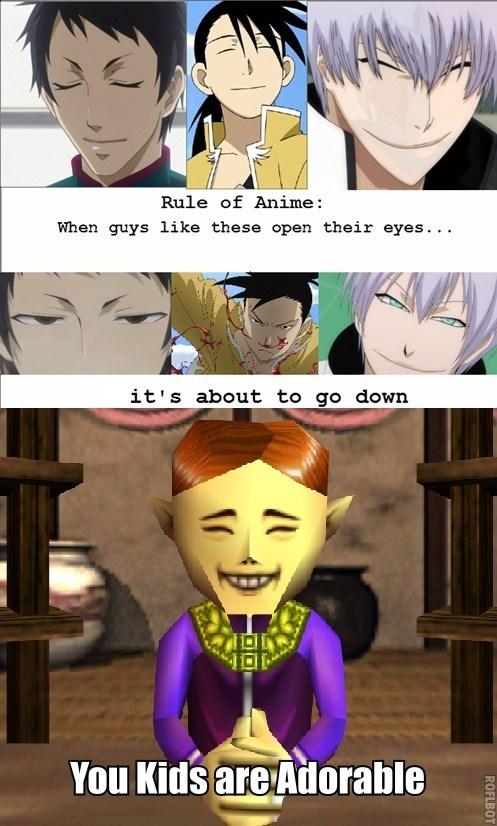 anime,majoras mask,zelda