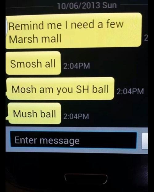 marshmallows voice to text AutocoWrecks - 7872700416