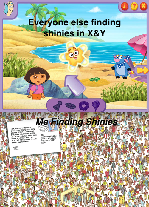 Pokémon,shinies,dora the explorer