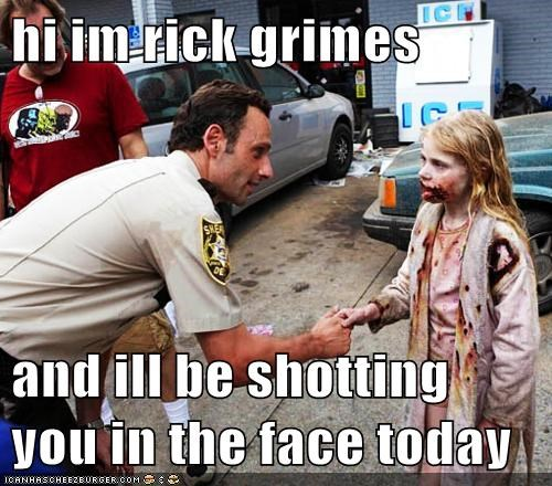 Rick Grimes polite The Walking Dead - 7872843264