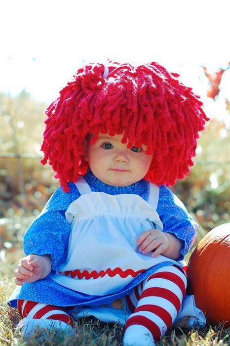 costume kids cute for sale parenting raggedy ann - 7872845312