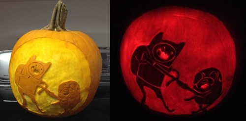 ghoulish geeks,jack o lanterns,g rated,cartoons,adventure time