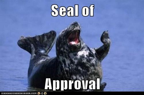 seal flipper sea life high five