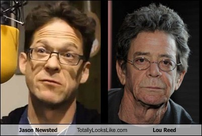 Lou Reed,jason newsted,totally looks like,funny