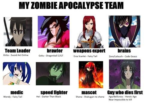anime apocalypse zombie - 7873478912