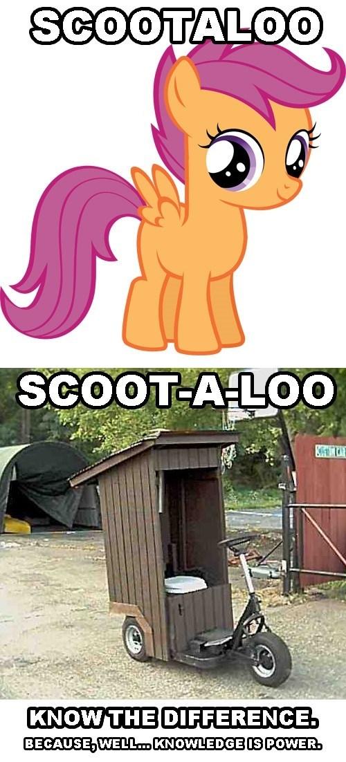 toilet humor puns Scootaloo - 7873761024