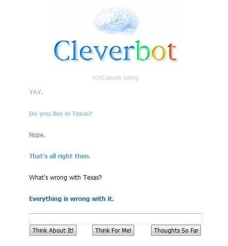 Cleverbot texas - 7873862656