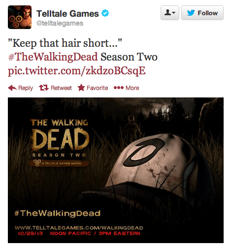 twitter video games The Walking Dead Video Game Coverage - 7873945856