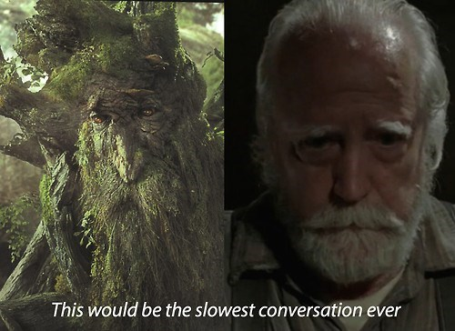 treebeard,hershel greene,The Walking Dead