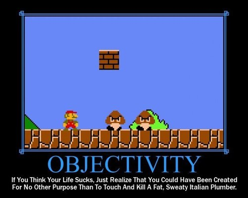 horrible wtf objectivity video games mario bros funny - 7874212864