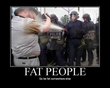 cops riots fat jokes funny - 7874235392