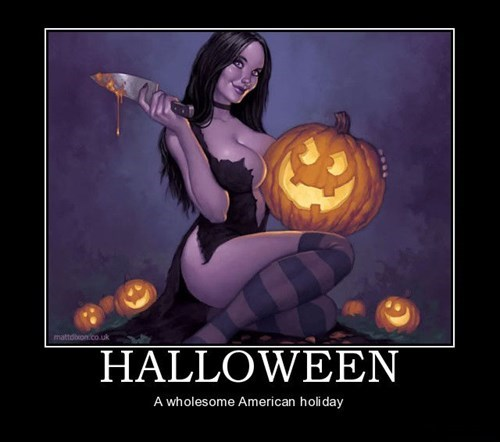 Sexy Ladies halloween awesome funny holidays - 7874250496
