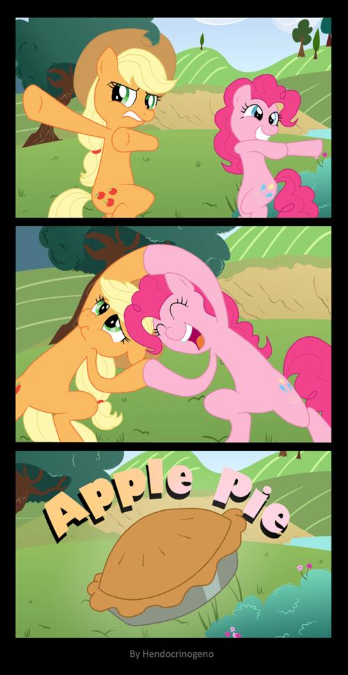 applejack Fan Art pinkie pie apple pie - 7874254336