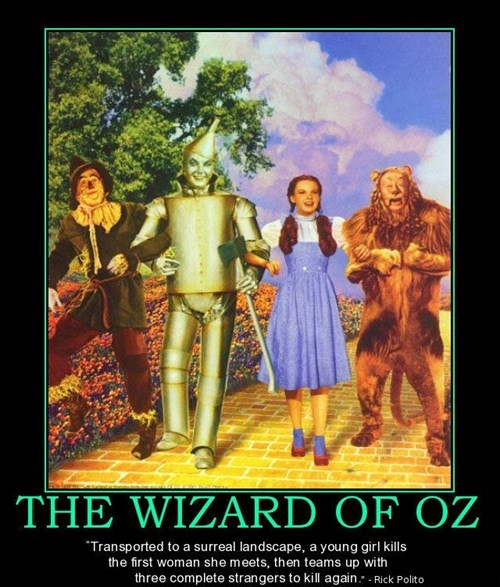 wizard of oz,wtf,disturbing,funny