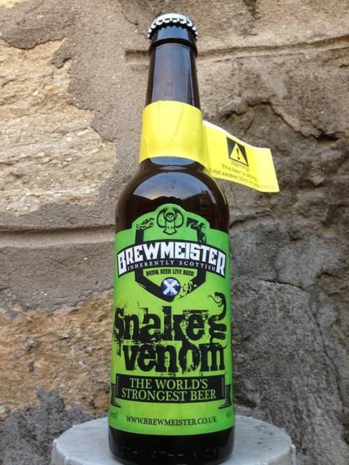 beer,strong,snake venom