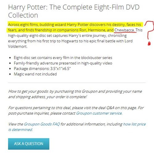 wtf Harry Potter star wars - 7874321152