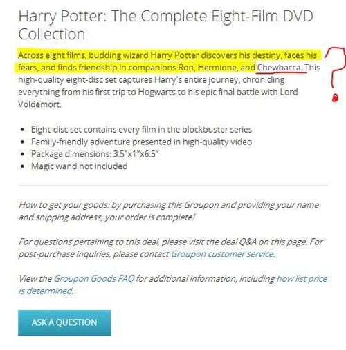 wtf Harry Potter star wars - 7874321152
