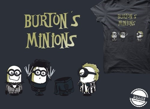 despicable me for sale t shirts tim burton - 7874384384
