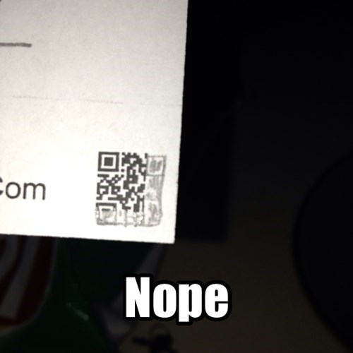 QR codes,there I fixed it,printer