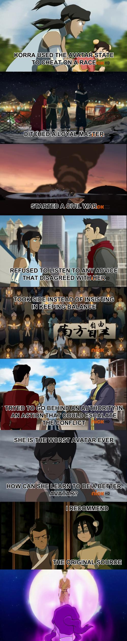 wan cartoons Avatar korra - 7874444032
