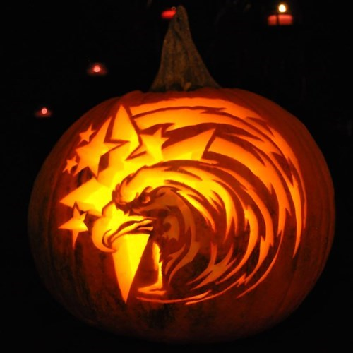 pumpkins murica halloween pumpkin carving - 7874461696