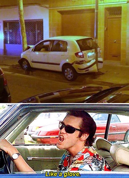 FAIL,funny,ace ventura,parking