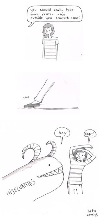 insecurities life advice funny web comics - 7874520576