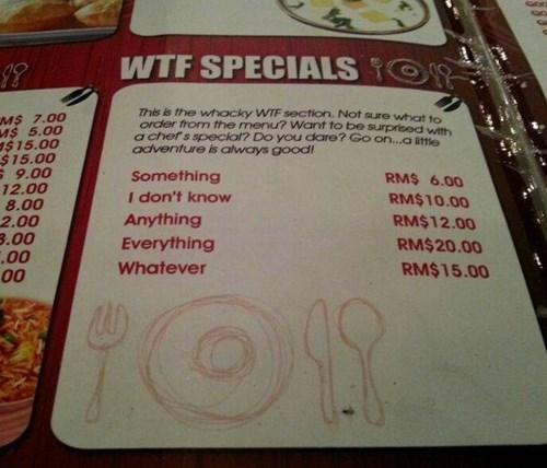 wtf menus funny - 7874532608