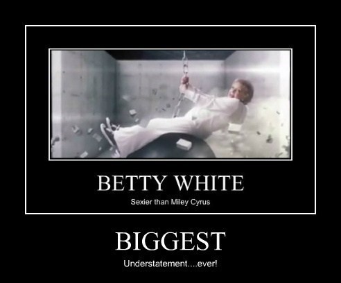miley cyrus betty white funny - 7874543616