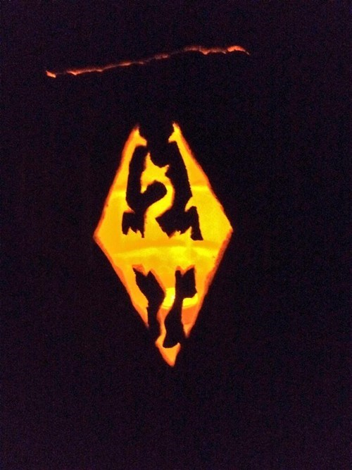 jack o lanterns g rated video games Skyrim - 7874590464