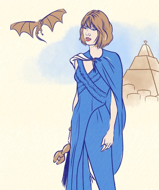 taylor swift,Music,billboard,illustrations,art,Game of Thrones