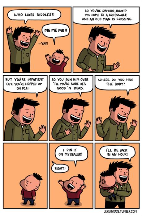 dark humor funny riddles web comics - 7874673920