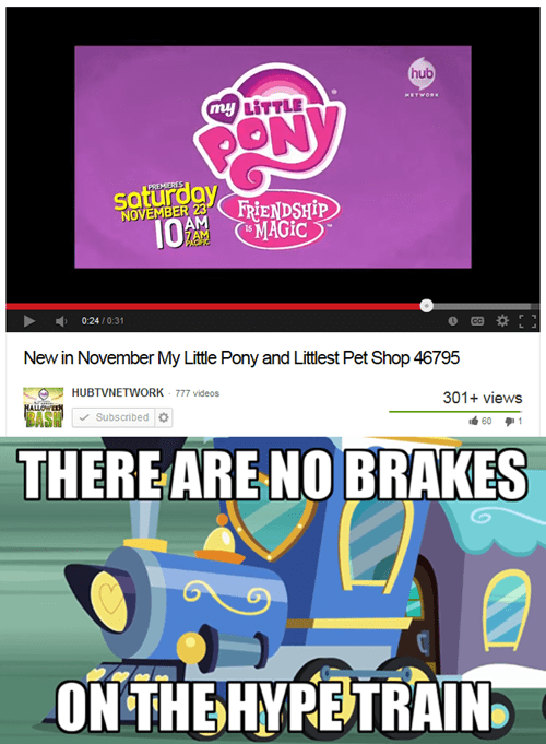 hype train,no brakes,mlp season 4