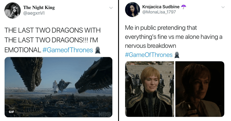 Funny reactions to game of thrones trailer, season 8.