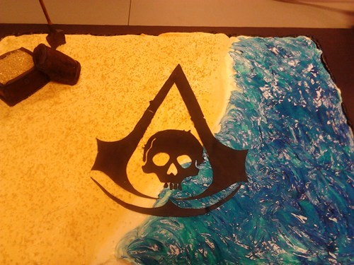 cake assassins creed noms video games - 7875143424