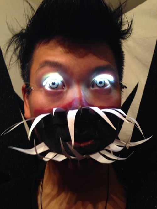 costume g rated LED eyelashes DIY - 7875294208